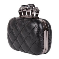 Wholesale Hot sale Skull ring bag dinner dress bag Restore ancient ways Bag Genuine leather chain bag