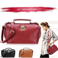 Wholesale Genuine Leather Doctor s Bag medicine chest shoulder Bag wonen handbag B886