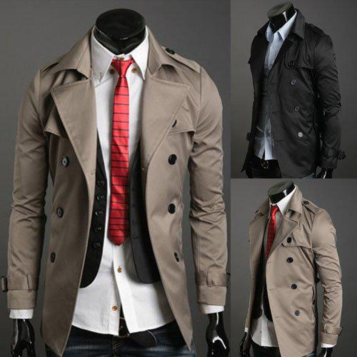 Cheap Men Designer Clothes Online Men s Trench Coat