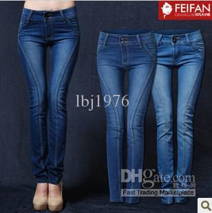 2017 New Elastic Jeans Women Style Popular Long Jean From Lbj1976 ...