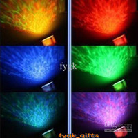 Wholesale New LED light Relaxing Ocean Projector Pot Speaker with
