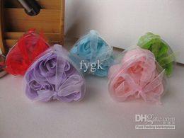 new soaps flower 3pcs=1Set, 100set  lot Bath Soaps Flower Rose Petal Available Valentine's Day gift Wedding gift
