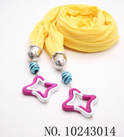 Wholesale 10PCS The woman scarf Pure color Rayon Yellow pend pendant people cotton long towel scarf WA13