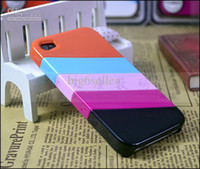 Wholesale New arrial rainbow cover case for iphone s g iphone iphone4s