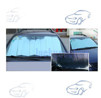 Wholesale Auto Car Sun Shade Foldable Aluminium Foil Sun Visor Shield Reflective Shade