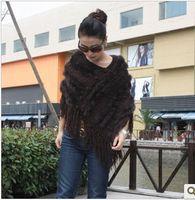 Wholesale Fashion New Rabbit Fur Woman Big Size Scarf Lady s Warm Shawls Hot Sale Girls Body Wraps Scarves