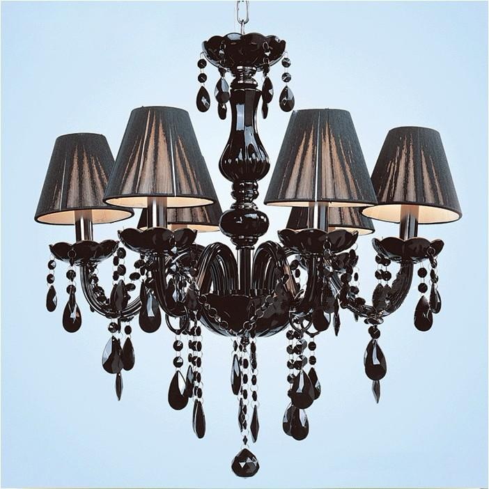 Chandelier Black Crystal: black crystal chandelier lighting. teardrop elements black onelight  lighting crystal ...,Lighting