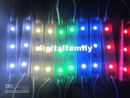 backlight LED sign modules Led Module Christmas lamp light 5050 3 LED Modules Yellow Green Red Blue White Warm White Waterproof IP65 DC12V
