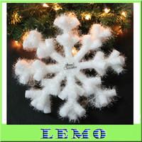 Wholesale 40pcs Christmas snowflake snow flake for Christmas tree Christmas ornament