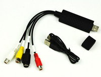 Wholesale High Quality Easycap USB Video TV DVD VHS Capture Adapter