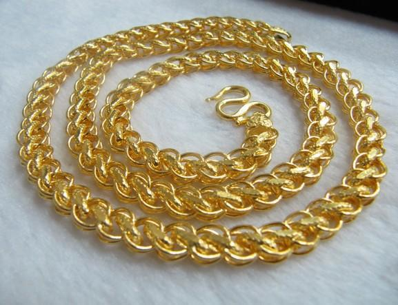 Heavy Gold Chain Necklace 24k Gold Heavy Gold Chain