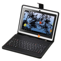 "Q8 Q88 7"" Tablet PC PU Leather Keyboard Stand Case For ..."