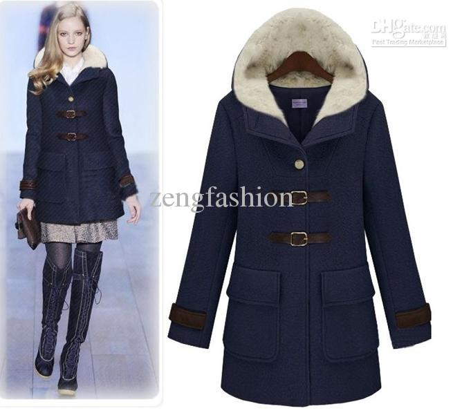 2012 new women's fall and winter clothes warm coat thickening plus