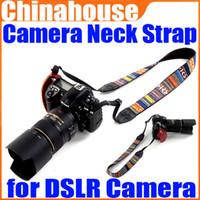 Wholesale Vintage Hippie Letter Sling Camera Shoulder Strap Neck Belt for Digital DSLR SLR Camera