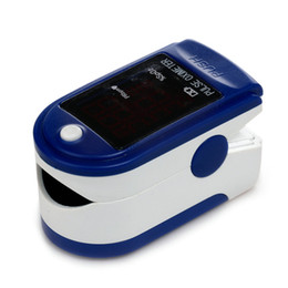 Wholesale CE Finger Pulse Oximeter Blood Oxygen SPO2 PR Monitor shipping