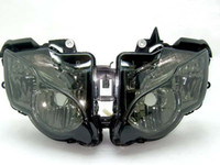 Wholesale Motorcycle Headlight SMOKE For Honda CBR1000 CBR1000RR Headlights Headlamps