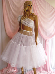 Wholesale Beautiful Bridal Gown Petticoat Petticoats Underskirt A Lined For Dress And Gowns With Hoop