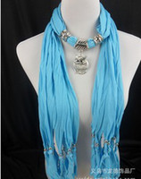Wholesale scarf scarf pattern Tassel scarf Against the cold dress adornment