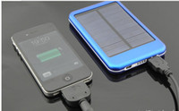 Wholesale 5000mah USB Solar Charger Solar Panel Battery Charger