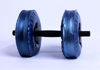 Wholesale Exercise adjustable dumbbell Water Poured Dumbbell have RoHS approved pairs