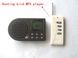 Wholesale Free shiping pc Hunting Bird MP3 Player caller speaker tools With Remote Controller S515