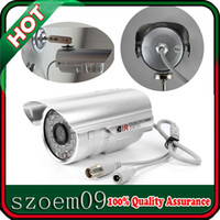 Wholesale New LED TVL PAL NTSC IR Sony CCD Color Security Digital Video Camera