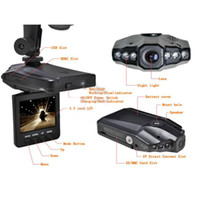 Wholesale Drop Shipping Rotatable Inch LCD IR LED HD Car DVR Video Camera Camcorder Audio Wide angle