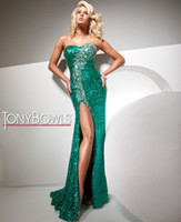 Wholesale 2012 Hot Sale Cheap Sexy Sweetheart Ankle Length Beads Sequins Evening Dresses Prom Dresses
