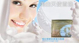 Wholesale 10pcs Mask Collagen Resist Wrinkles Moisturizing whitting Skin care Health Beauty