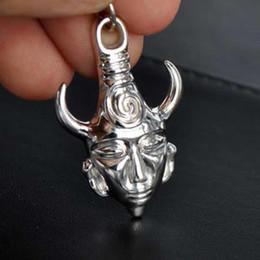 Wholesale Dean Winchester Supernatural Demon Protection Amulet Silver Pendant Charm Sam Necklace Chain