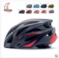 Wholesale Moon riding helmet bike helmet integrated mountain bike helmets safety helmet cycling equipment