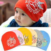 Wholesale Christmas Baby Gift Cotton Baby Hats Baby Boy Girl Bike Caps Hats hat L H CM More colors