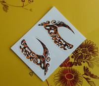 Wholesale Lastest Temporary pieces Tattoos Eye Sticker Eye Liner Sticker Shadow Sticker Mix Models
