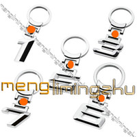 Wholesale Letter D Car Metal Keyring Key Chain Keychain than MIX
