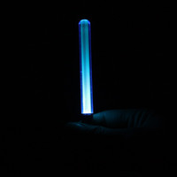 Wholesale Pen Glow LED Light Stick Keychain Keyring Party Wave Outdoor Emergency lights