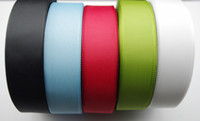 Wholesale FREE SHIPING yd mm solid color grosgrain ribbon diy hairbows