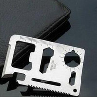 Wholesale 11 in Emergency Survival Card Multi Purpose Tool