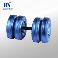 Wholesale Shenzhen selective weight dumbbell Water Poured Dumbbell By EMS pairs