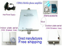 Wholesale Free DHL Shippping A set G Booster Repeater UMTS Band Cell Phone Signal Repeater CDMA MHz