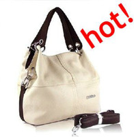 Wholesale Promotion special offer LEATHER restore ancient inclined big bag women cowhide handbag free shipp