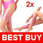 Wholesale 2 Cellulite Fat Burner Sauna Slimming SHAPE UP Leg Arm Body Plastic Belt Wraps