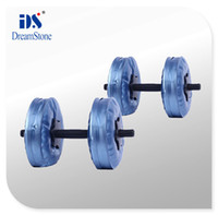 Wholesale by EMS selective dumbbell filled water have RoHS approved pairs