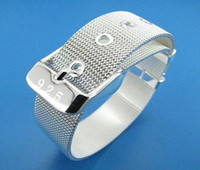 Wholesale Price Can Custom Hand Made Fashion Jewelry Silver Filled Bracelet BB0038
