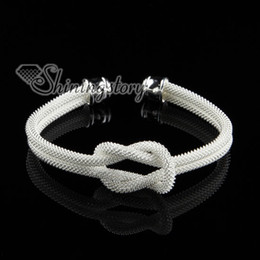 cheap fashion jewelry silver filled brass mesh knot bangles cuff bracelets jewelry jewellery