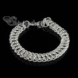 925 sterling silver filled brass chain bracelets for man and woman jewelry jewellery Sb80400 high fashion jewelry