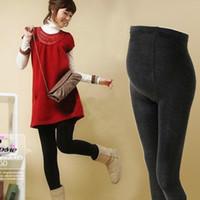 leggings pregnant - womens maternity pregnant bottoms Leggings Adjustable velvet thickened maternity belly leggings