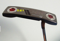 Wholesale 2pcs NEW MODEL BLACK PUTTER BLACK COME WITH HEADCOVER