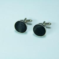Wholesale jewelry Men s Jewelry Cufflink Men s Cuff Link Black pairs F00293