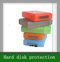 Wholesale 10pcs Hard disk protection box inch disk case hard disk PP box