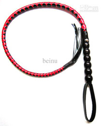 Wholesale CS059 PVC Rope Whip Ass Beating Slapper Buttock Spanking Bondage SM Game Gadget Gear Toy